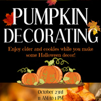 Pumpkin Decorating with Campus Connections