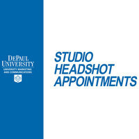 Faculty/Staff Monthly Headshot Appointments: Loop Campus-October 17, 2019