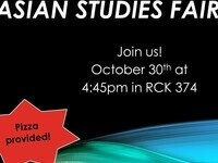Asian Studies Fair!