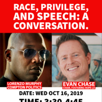 Race, Privilege, and Speech – a conversation.