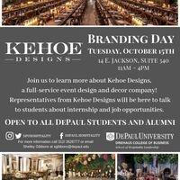 Kehoe Designs Branding Day