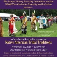 Native American Heritage Month Lunch & Learn