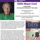 """Edith Mayer Cord presents """"Finding Edith: Surviving the Holocaust in Plain Sight"""""""