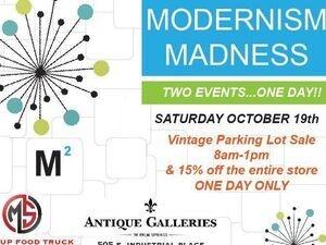 Modernism Madness Flea Market