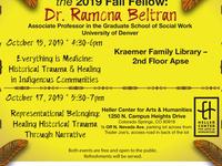 "Heller Fellow: Dr. Ramona Beltran - ""Representational Belonging"""