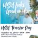 Utah State University (USU) Transfer Visit