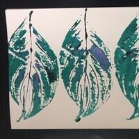 UD Botanic Gardens Leaf Print Workshop