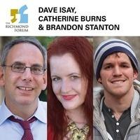 The Richmond Forum presents Dave Isay, Catherine Burns & Brandon Stanton