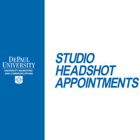 Faculty/Staff Monthly Headshot Appointments: LPC-November 7, 2019