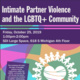 Intimate Partner Violence and the LGBTQ+ Community