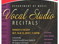 Vocal Studio Recital No. 1