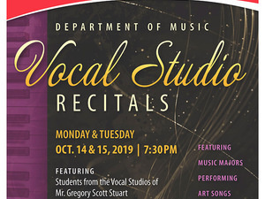 Vocal Studio Recital No. 2