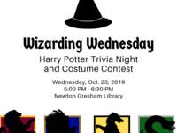 Wizarding Wednesday Harry Potter Trivia Night