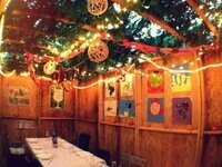 Faculty/Staff Brown Bag Lunch in the Sukkah