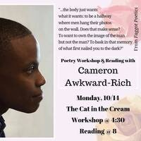 Cameron Awkward-Rich Workshop and Performance