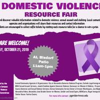 Domestic Violence Awareness Resource Fair
