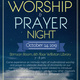 Worship and Prayer Night