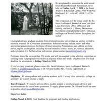 Jesuit Student Research Symposium