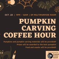 Pumpkin Carving Coffee Hour