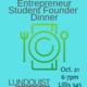 UO Entrepreneur Founder Dinner