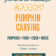 SFC Pizza and Pumpkin Carving