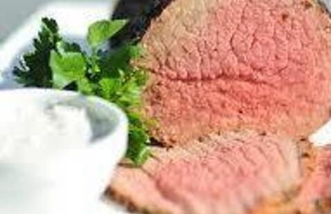 C-Cubed Luncheon - Carved Top Round of Beef with Horseradish Cream Sauce