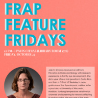 FRAP Feature Friday