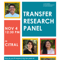 Transfer Research Panel