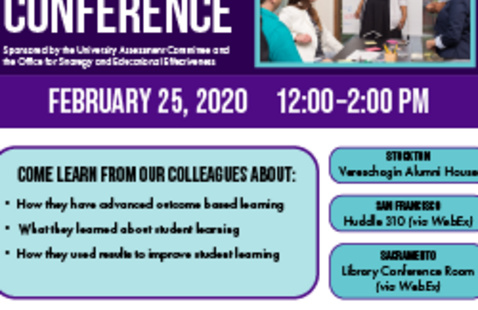 Pacific's 4th Annual Assessment Conference