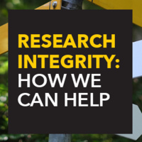 Research Integrity: When and How to Make Your Life Easier