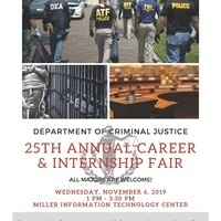 25th Annual Criminal Justice Career & Internship Fair