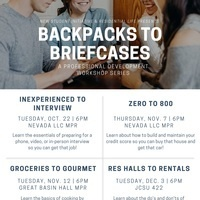 Backpacks to Briefcases: Res Halls to Rentals
