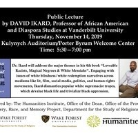 Lecture: Author David Ikard