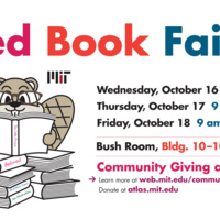 Community Giving at MIT Book Fair