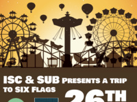 ISC and SUB Six Flags Trip