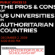 The Pros and Cons of US Universities Operating Campuses and Centers in Authoritarian Countries