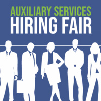 Auxiliary Services Hiring Fair