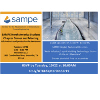 SAMPE Student Chapter Dinner and Meeting