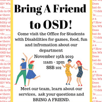 Bring a Friend to OSD