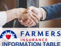 Farmers Insurance Information Table