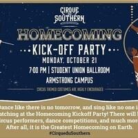 UPB-ARM: Cirque du Southern: Homecoming Kickoff Party