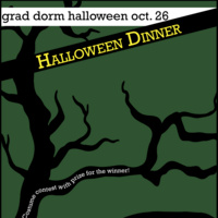 Ashdown Halloween dinner