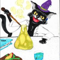 Fredonia Chemistry Club Halloween Science Fair - Student Day