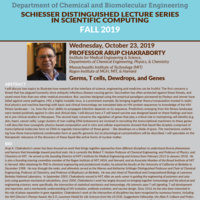CANCELLED - CHBE Schiesser Distinguished Lecture