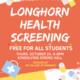 Longhorn Health Screening