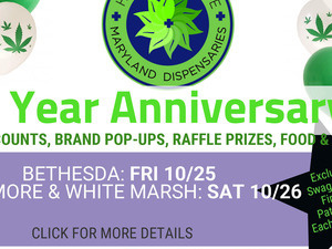 1 Year Anniversary - Health For Life Dispensary! (White Marsh location)