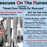 "Rescues On The Runway - ""Head Over Heels for Rescues"""