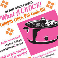 What a Crock: All Staff Council Crock Pot Cook-Off