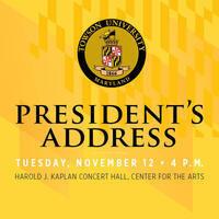 President's Address, November 12
