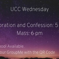 UCC—Mass, Adoration, & Confession
